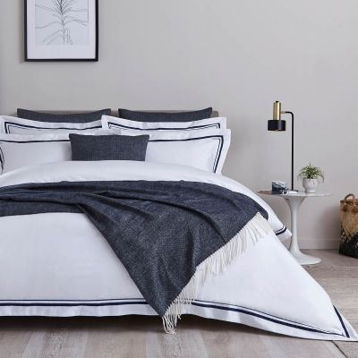 Shop Navy Cushions, Bedspreads & Throws