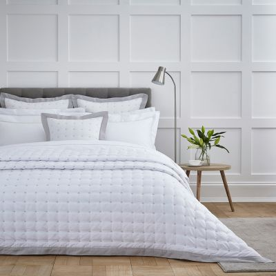 Shop White Cushions, Bedspreads & Throws