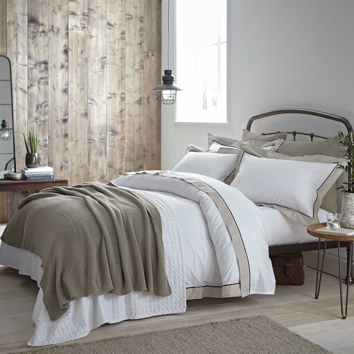 Milano Duvet and Pillow Set in Natural